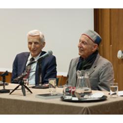 Professor Carl Djerassi and Lord Martin Rees