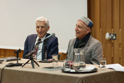 Professors Lord Rees and Djerassi discuss